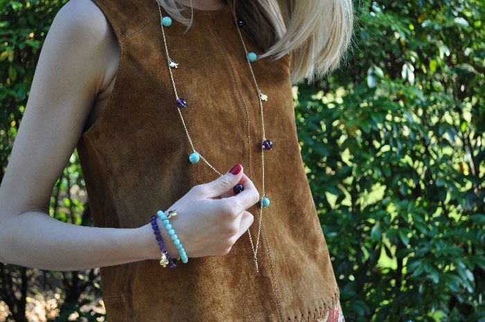 Look Festival Collar Largo Amatista